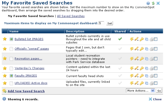 my favorite saved searches rh ohsu edu