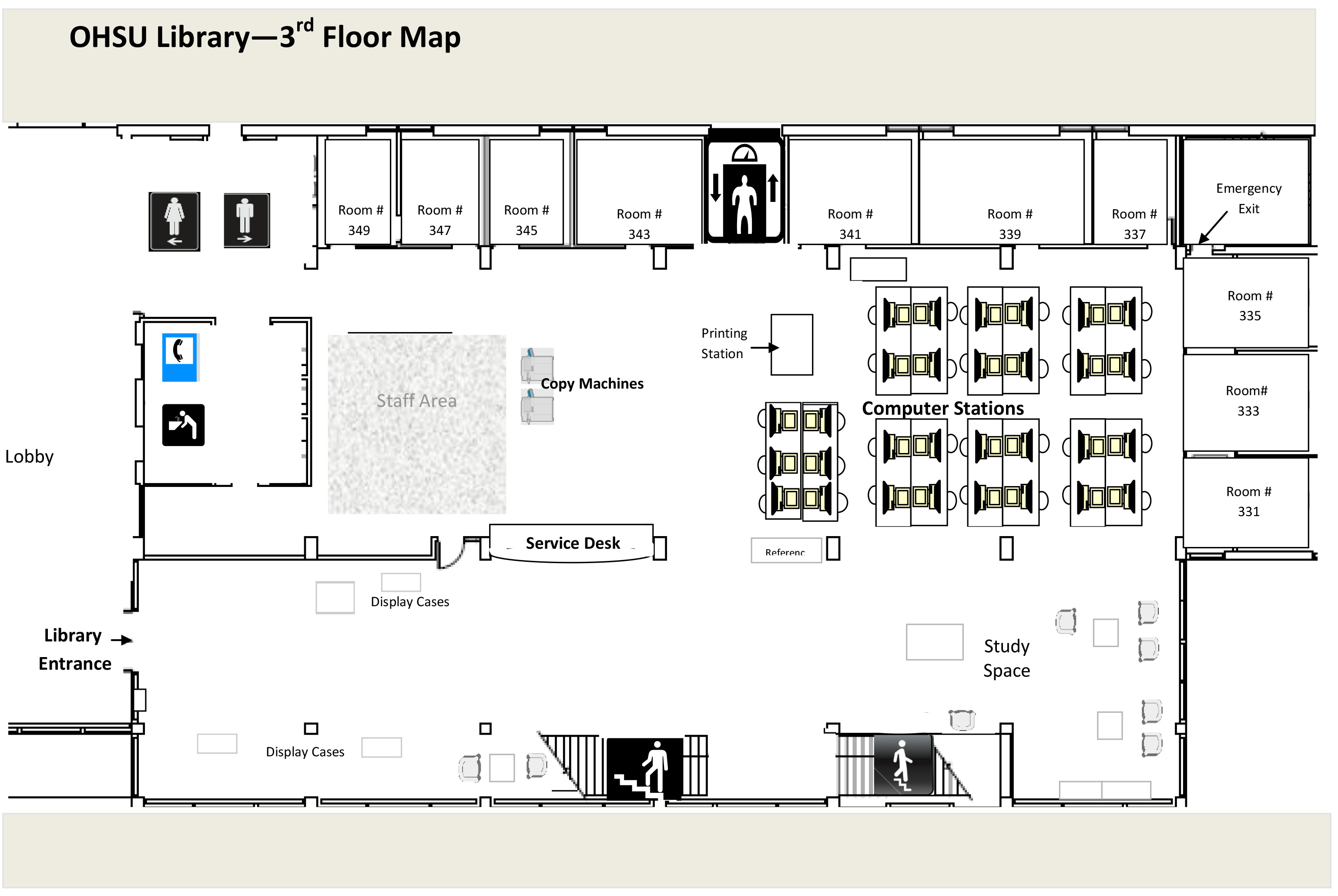 Library Floor Plans Ohsu
