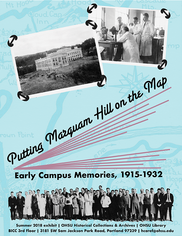 Putting Marquam Hill on the Map: Early Campus Memories, 1915-1932 | on wayne state university campus map, harvard medical school campus map, historic portland oregon map, pfizer campus map, penn's campus map, oregon health sciences university campus map, university of florida campus map, virginia commonwealth university campus map, u of az campus map, pcc sylvania campus map, massachusetts general hospital campus map, portland va campus map, the university of iowa campus map, google campus map, kaiser campus map, stanford university campus map, baylor college of medicine campus map, marquam hill campus map, portland state university parking map, portland state university campus map,