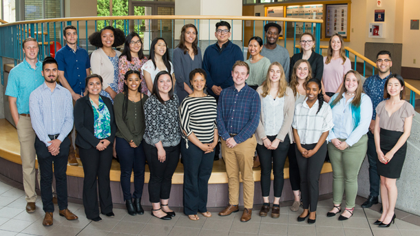 2018 Equity Research Program Interns group photo