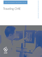 Cover image of Ortho Traveling CME brochure