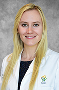 A portrait of resident Erika Hagstrom, M.D.