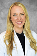 A portrait of resident Solveig Ophaug, M.D.