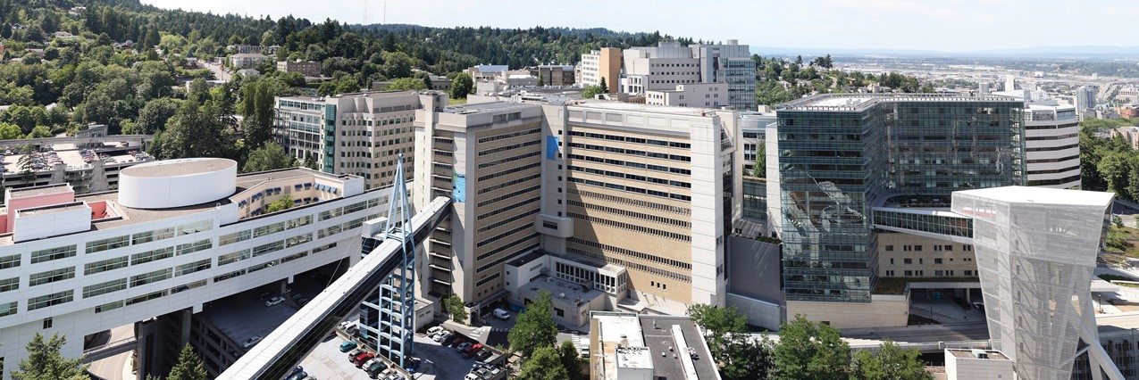 View of OHSU Campus