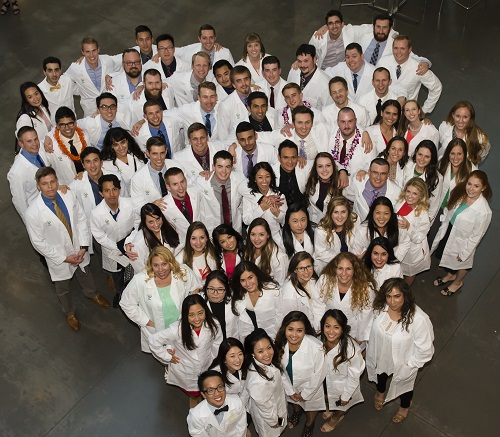 SOD Students in White Coats