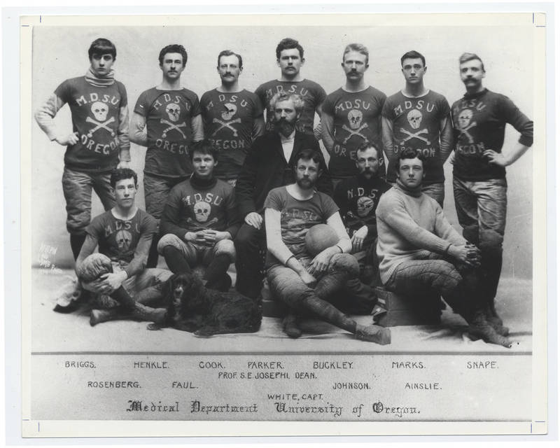 University of Oregon Medical Department football team, 1894
