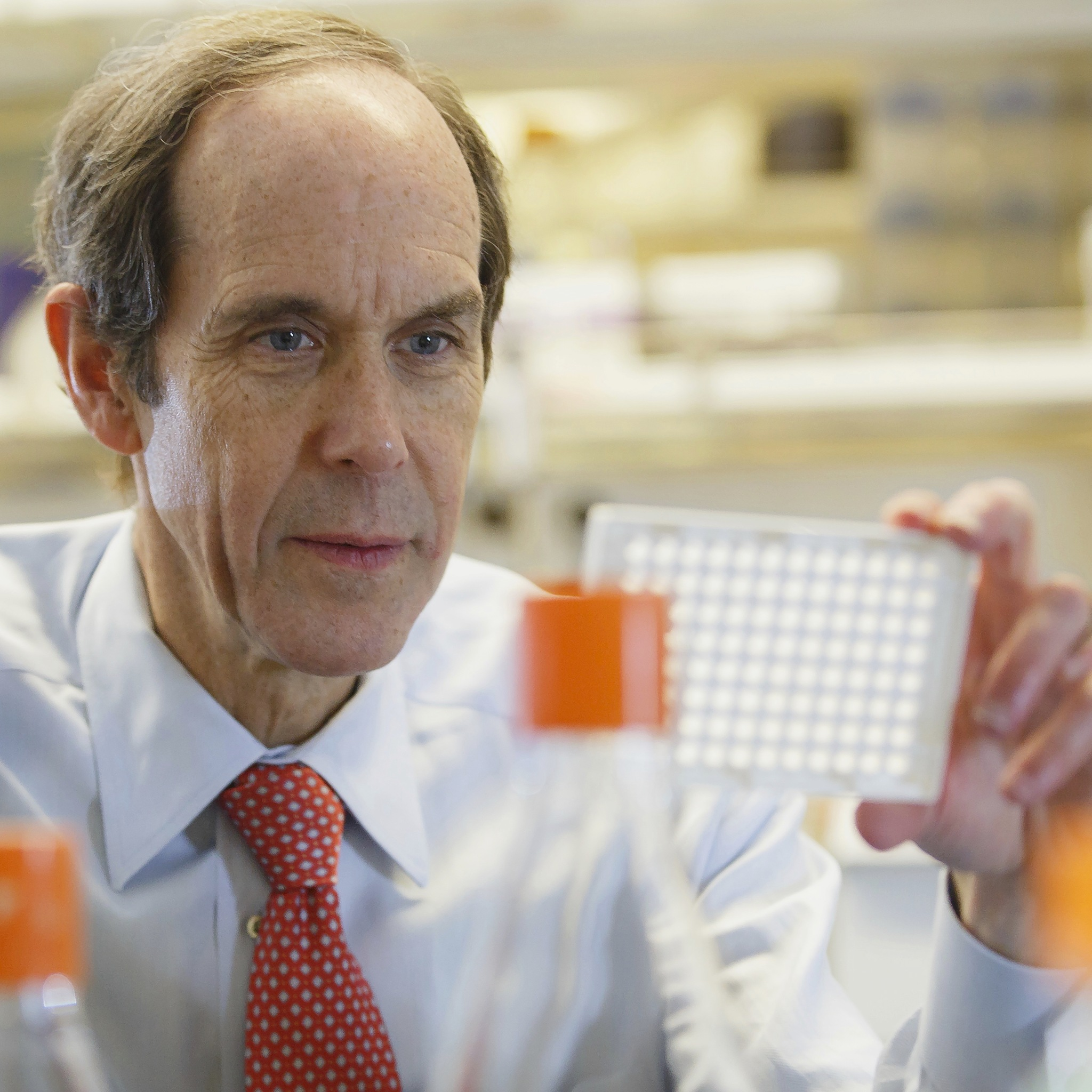 Dr. Brian Druker, a blood cancer expert and the director of the Knight Cancer Institute.
