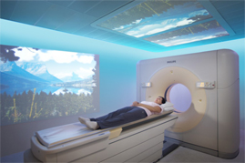 Ambient CT unit in Radiology