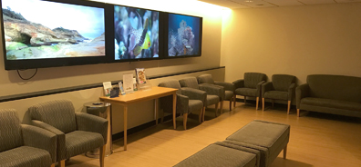 Diagnostic Radiology 10th floor lounge
