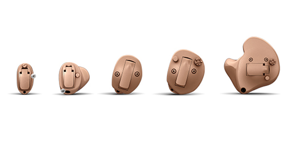 Image of a In the Ear hearing aid style