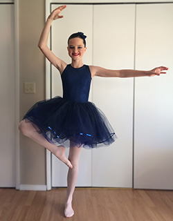 Maddie McCoy who had a kidney transplant is now able to do activities, such as dancing