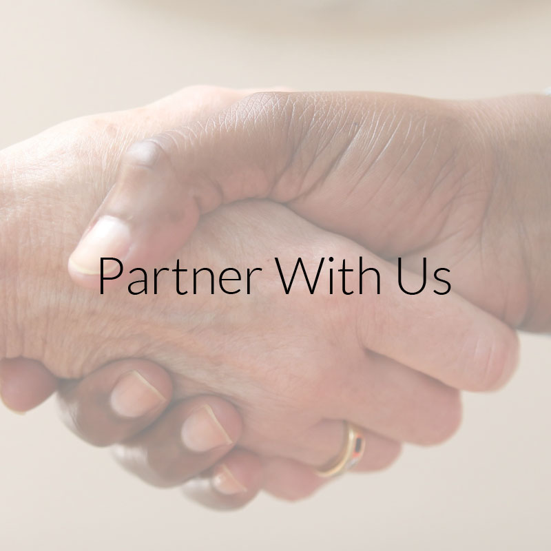 Partnership Opportunities button