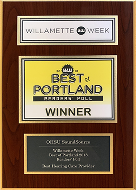Willamette Weekly Best of Portland Reader's Poll Award