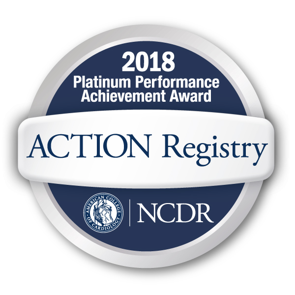 2018 ACTION Registry Award Badge
