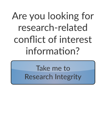 Travel to Research Integrity button
