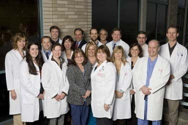 Head and Neck Surgery team members