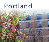 Photo of the School of Nursing Portland Campus