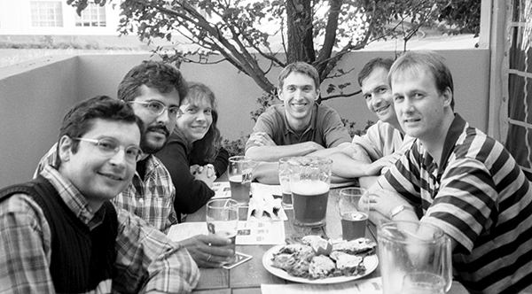 von Gersdorff Lab members in 2001