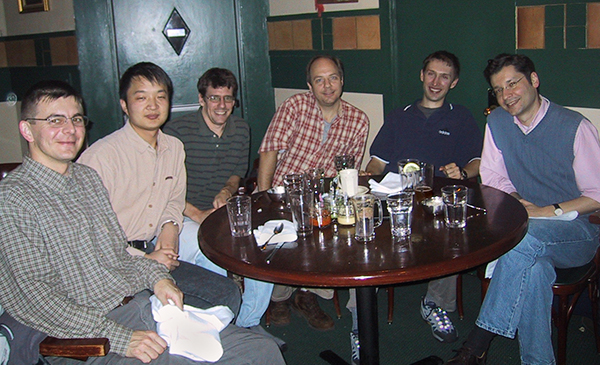 von Gersdorff Lab members in 2004