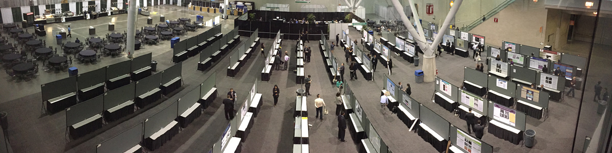 Panoramic view of ACP Poster Session