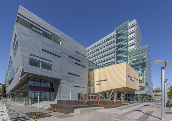 The Robertson Life Sciences Building at Oregon Health and Science University