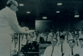 Dr. Howard P Lewis Lecturing in UH8B60 c.1967