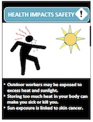 TWH Health Impacts Safety Guide Sun