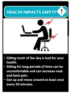 TWH Health Impacts Safety Guide Sitting