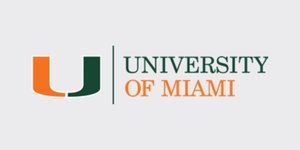 University of Miami logo - grey background - CART (Sign up page)