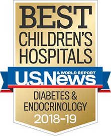 US NEWS BEST - Pediatric Diabetes and Endocrinology
