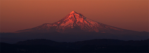 Mt. Hood at sunset