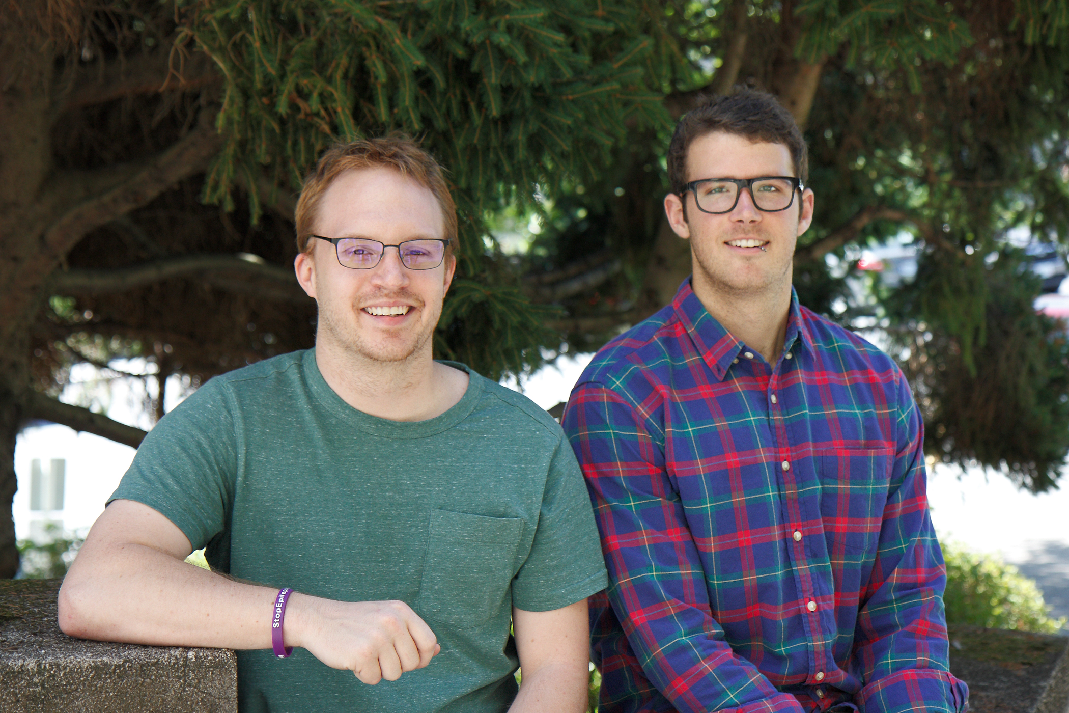 Will Hendricks & Nate Yoder receive the NRSA Fellowship