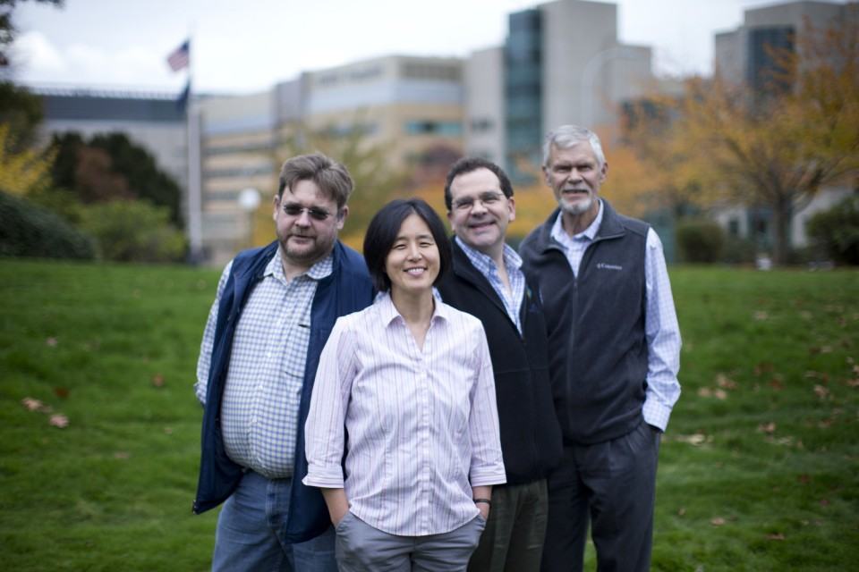 Oregonian highlights researchers at the Oregon Health Research Center