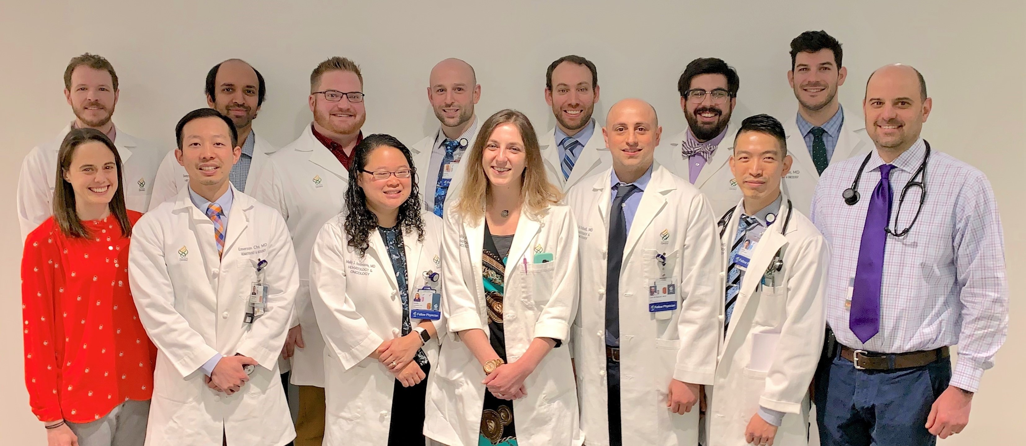 Current fellows of the OHSU Division of Hematology and Medical Oncology