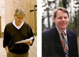 Drs. Westbrook and Bourdette, collage