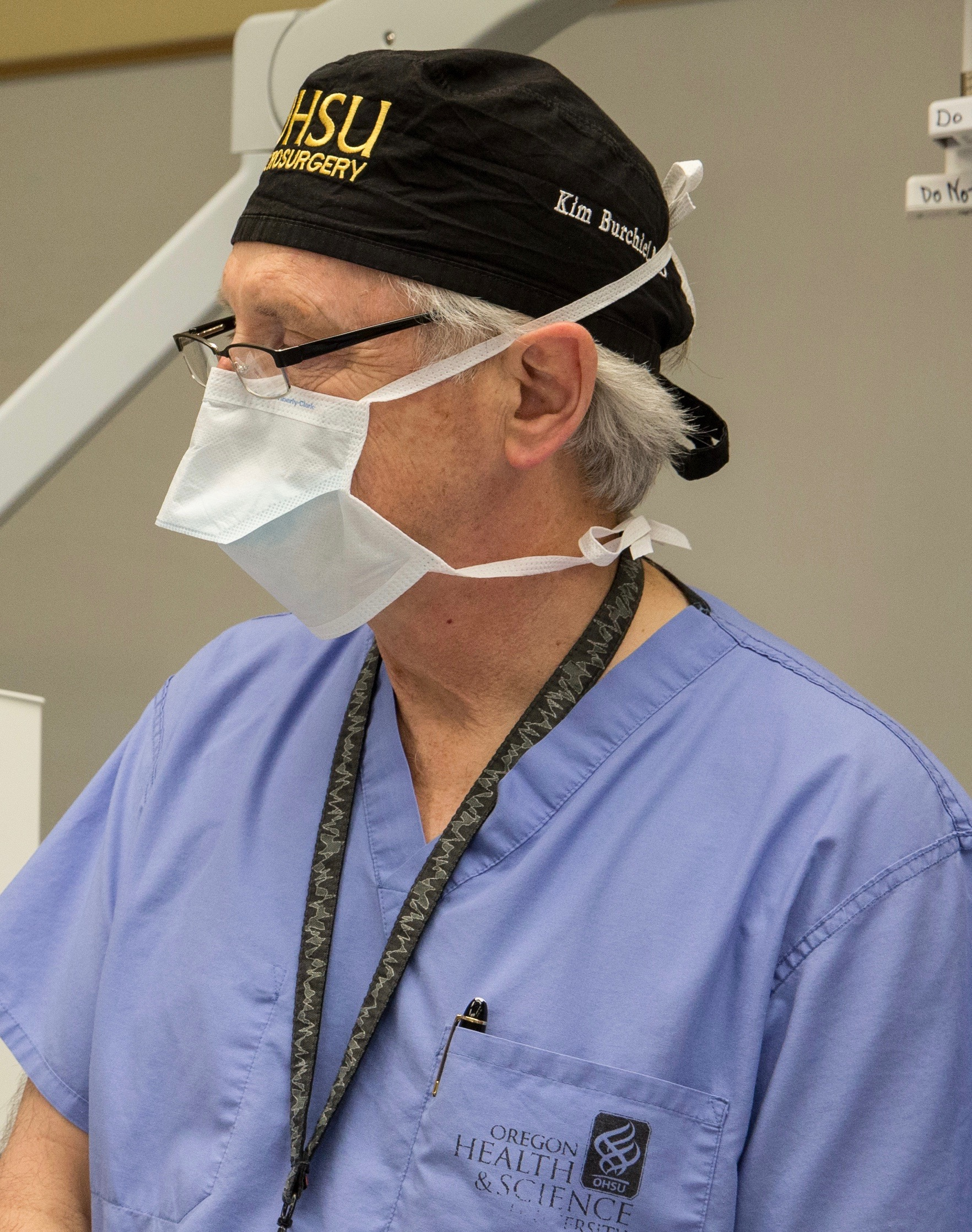 Neurosurgeon Kim Burchiel has innovated his own techniques for facial pain surgery.