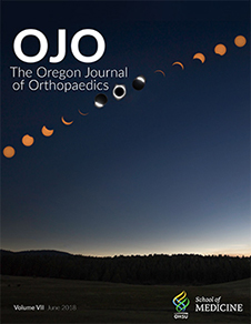 2018 Oregon Journal of Orthopaedics cover