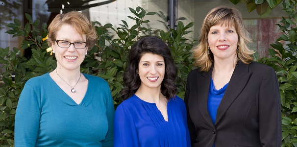 Women's mental health care providers, Drs. Anderson, Davoudian, and Cirino