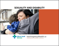 Screenshot of Sexuality and Disability from Alberta Health Services