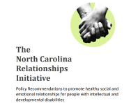 Cover page of NCRI's policy recommendations for relationships