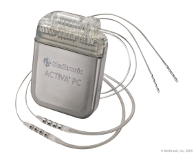 DBS deep brain stimulation device illustration medtronic activa PC
