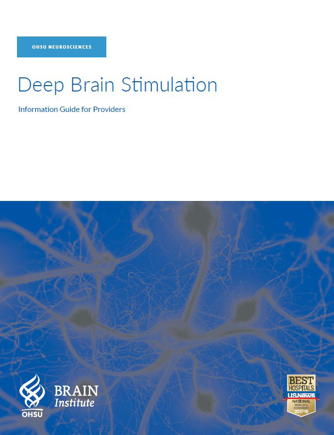 OBI DBS deep brain stimulation provider brochure guide for referring providers