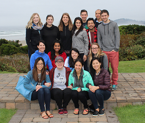 Group photo of the PGY-3 Resident Class at our Annual Retreat.