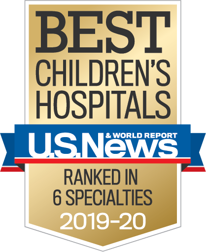US News Best Hospitals Badge - 6 specialties