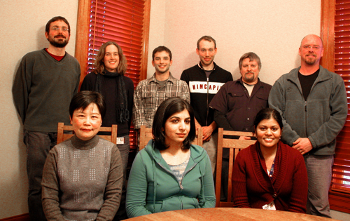 Marks Lab group photo - 2008