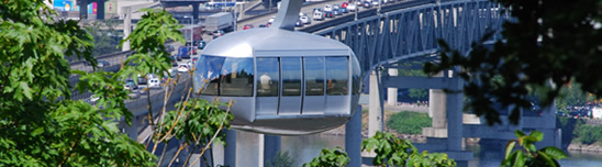 OHSU tram in portland oregon