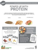 protein poster from Nutrition in a Box curriculum