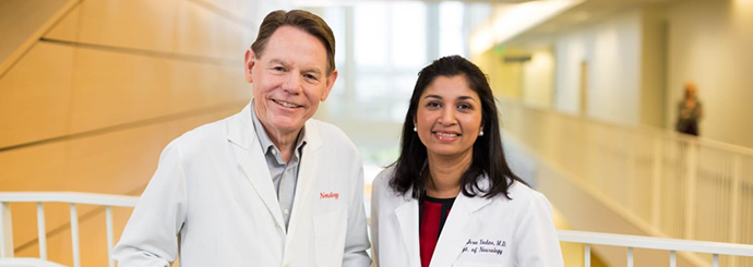 Drs. Bourdette and Yadav, OHSU experts in Multiple Sclerosis