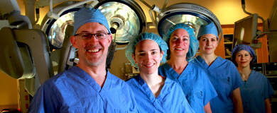 The Center for Women's Health Robotic Surgery Team