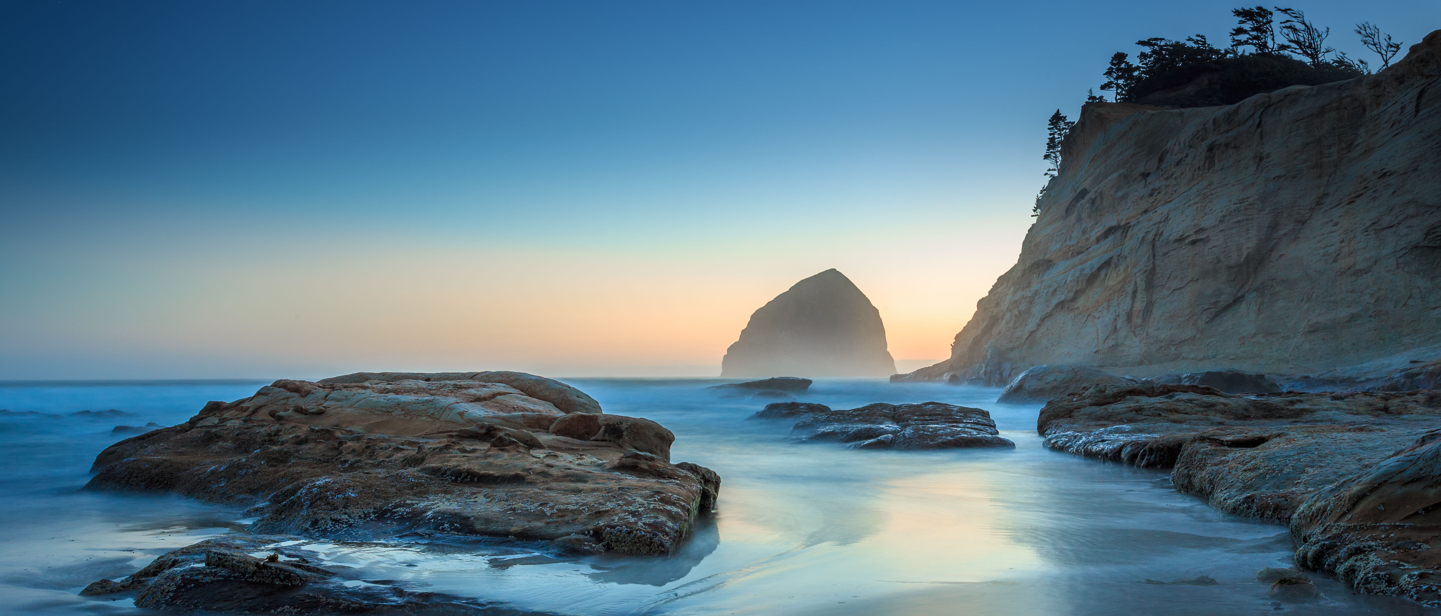 Scenic view of Oregon Coast near Gleneden Beach. Photo from Getty Images.